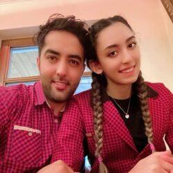 اولین عکسهای عروسی کیمیا علیزاده و همسرش