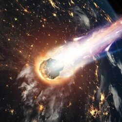 احتمال برخورد سیارک به زمین