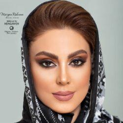 عکس هایی از آرایش نیلوفر شهیدی با مدل موی متفاوت