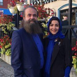 عکس اولین فرزند سارا صوفیانی و همسرش امیرحسین شریفی