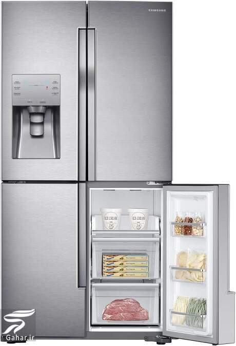 samsung refrigerator french door rf23j9011sr 5 قیمت جدید انواع یخچال و فریزر سامسونگ (21 مرداد 99)