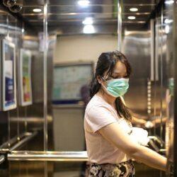 مدت زنده ماندن ویروس کرونا در آسانسور