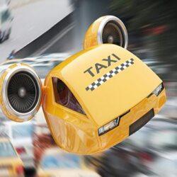 اولین تاکسی های پرنده در ایران