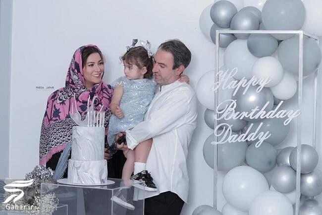 عکس خانوادگی فریبا نادری به بهانه تولد همسرش, جدید 99 -گهر