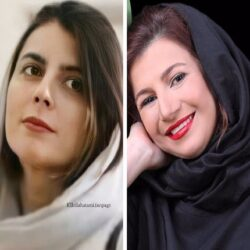 عکس دیدنی از کودکی لیلی رشیدی و لیلا حاتمی
