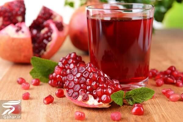 pomegranate juice این میوه پاییزی روند پیری را کاهش می دهد