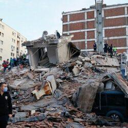 تصاویری از زلزله مهیب ترکیه