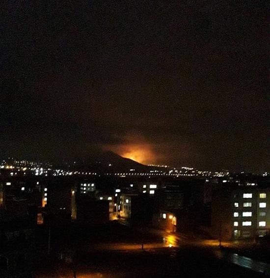علت صدای انفجار و مشاهده نور در آسمان سنندج چه بود ؟!, جدید 1400 -گهر