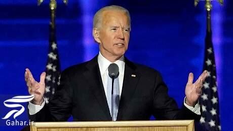 اولین سخنرانی بایدن به عنوان رئیس جمهور آمریکا, جدید 1400 -گهر