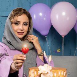 عکسهای تولد ۴۳ سالگی شبنم قلی خانی
