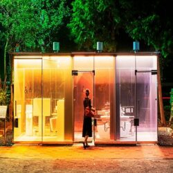 تکنولوژی جالب سرویس های بهداشتی شفاف در ژاپن | فیلم, جدید 99 -گهر