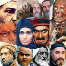 گریم های سنگین بازیگران سینمای ایران | تصاویر