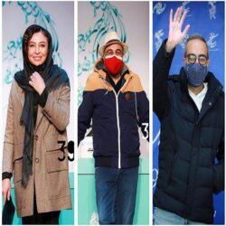 عکسهای بازیگران در جشنواره فجر ۹۹ / سری دوم