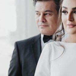 اولین عکسهای دو نفره پیمان قاسمخانی و همسرش, جدید 1400 -گهر