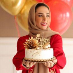 عکسهای جشن تولد ۳۵ سالگی سوگل طهماسبی