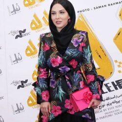 عکسهای لیلا اوتادی در اکران خصوصی لاله