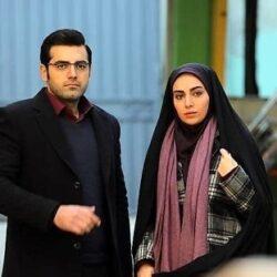 بازیگر نقش جواد در سریال بچه مهندس به همراه همسرش, جدید 1400 -گهر