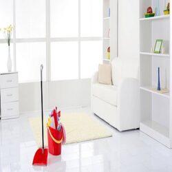 تمیز کردن خانه و آشپزخانه