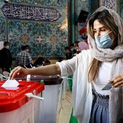 عکسهایی از حضور مردم در انتخابات ۱۴۰۰
