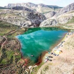 آدرس دریاچه لزور تهران