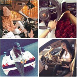 عکس پروفایل دخترونه لاکچری با ماشین, جدید 1400 -گهر