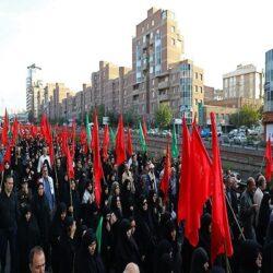 پخش سیگار در راهپیمایی اربعین تهران!