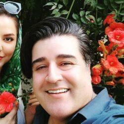 عکسهای مهدی یغمایی و همسرش